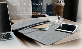 "Inateck MP1503 Case for 15"" MacBook Pro — Stylishness of the MP1503"